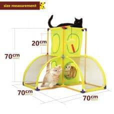 SportPet Cat Play Palace Measurement